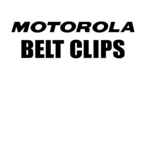 Motorola 2-Way Radio Belt Clips (Talkabouts & Business Class Radios)